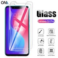 2 uds vidrio templado para Lenovo S5 Pro vidrio Protector de pantalla 2.5D 9H vidrio templado Premium para Lenovo S5 película protectora Pro