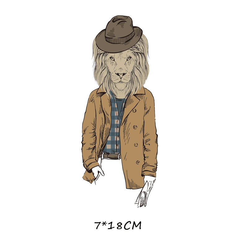 Мультяшный пони, единорог, динозавр, железная нашивка, теплопередача, одежда в полоску, футболка для мальчиков и девочек, сделай сам, волшебная наклейка на заказ - Цвет: ZT0765