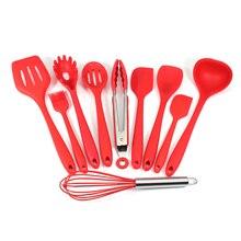 Rotateur de spatule en Silicone, cuillère à fente, louche, cuillère, spatule, spatule, spatule, spatule, brosse de bastion en Silicone