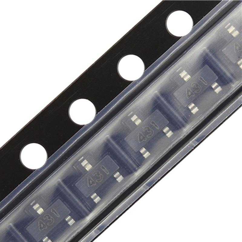 100PCS TL431 SOT23 TL431A SOT-23 431 SOT SMD SOT23-3 Voltage Regulator IC New Original