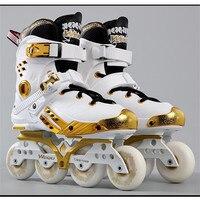 Hockey Roller Skate Sneakers Women Men Roller Skates Adults Salom Sliding Inline Skating