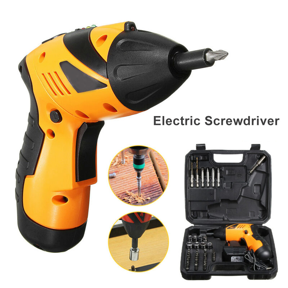 45 In 1 Foldable Electric Drill Cordless Screwdriver Lithium Battery Mini Drill Cordless Screwdriver Power Tools Cordless Drill