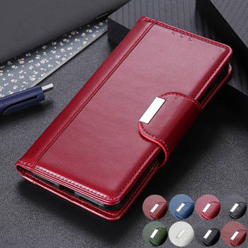 For iPhone 11 Pro Max Magnetic PU Leather Wallet Flip Phone case for iphone 12 Mini SE 2020 SE2 Xs Max coque Business Back Cover