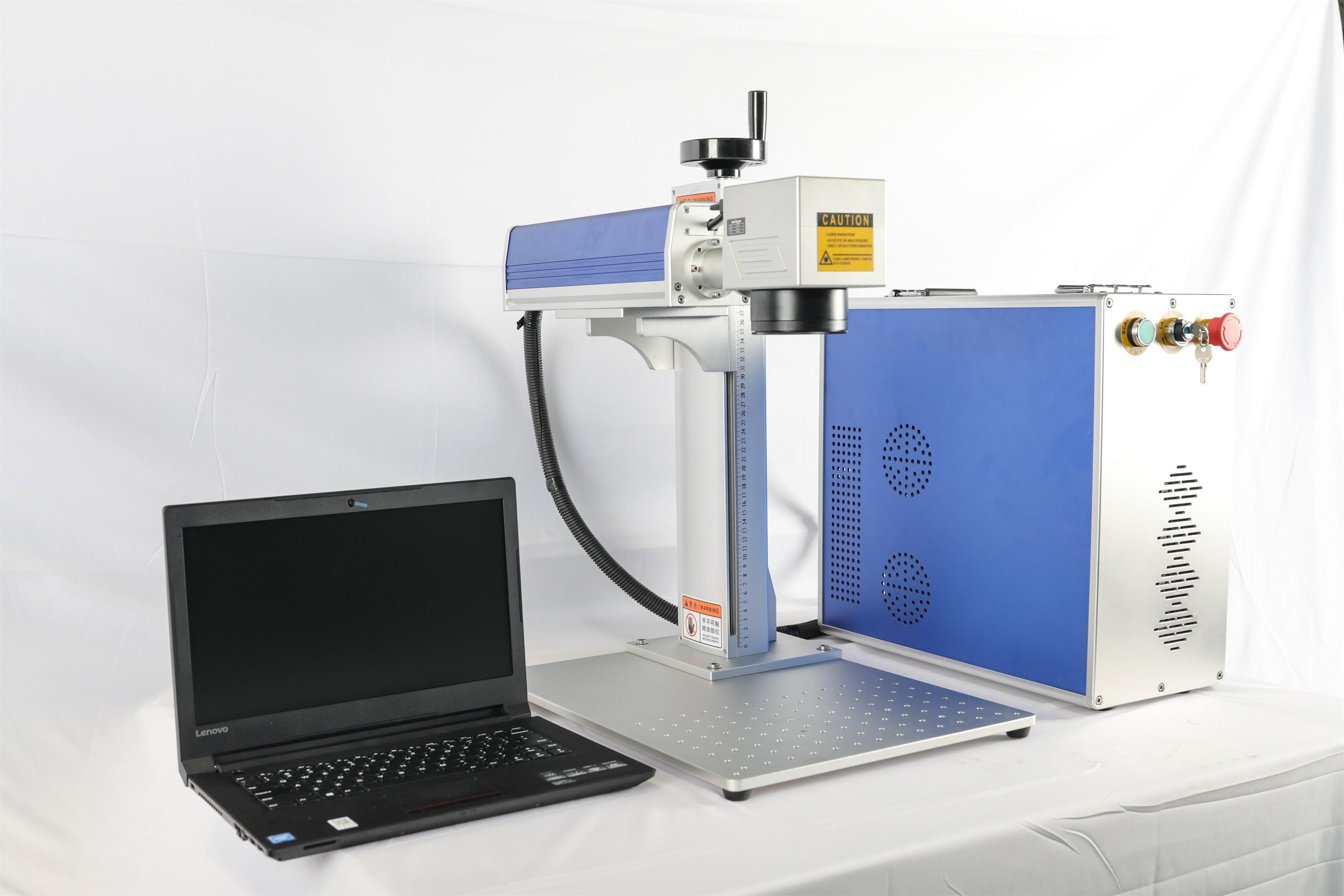 Fiber Raycus 20 W Laser Marking Machine IPG Fiber Laser Marker Fiber Laser Marking Machine