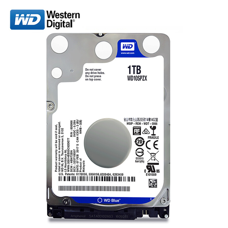 WD Brand 1000Gb 2.5