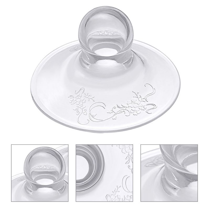Silicone Nipple Protector Extractor Breastfeeding Invagination Protection Shield 95AE