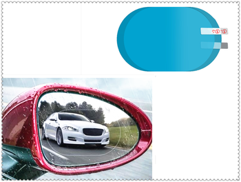 2PCS Car SUV Rearview Mirror Protective Film Rainproof Sticker for BMW 335is Scooter Gran 760Li 320d 135i E36 F30 F30 image