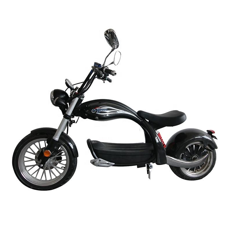 Европейский склад, новая модель, углеродное волокно Citycoco M4 2000 Вт, мотоцикл, Электрический скутер для взрослых