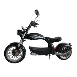 European Warehouse New Model Carbon Fiber Citycoco M4 2000W Motorcycle Adult Electric Scooter
