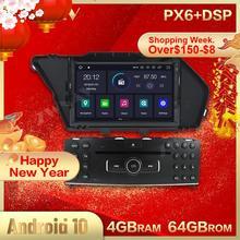 Android 10.0 araba radyo araba CD DVD OYNATICI Stereo GPS navigasyon için mercedes-benz GLK 2008-2010 GLK X204 GLK300 GLK350 kafa ünitesi