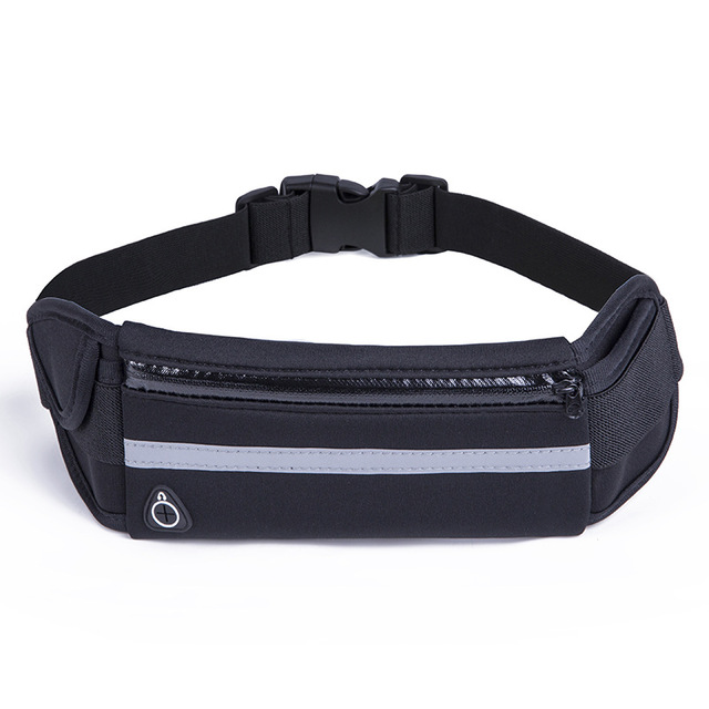 Running Belt Waist Phone Bag Running Bags Sport Pocket Jogging Pack Phone Pouch Wallet With Bottle Holder Anti-theft