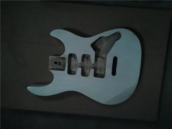 Afanti muzyka DIY gitara zestaw DIY gitara elektryczna ciała (MW-3-577) tanie i dobre opinie none not sure Nauka w domu Do profesjonalnych wykonań Beginner Unisex CN (pochodzenie) Drewno z Brazylii Electric guitar