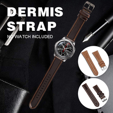 22mm Replacement Genuine Leather Watch Strap Band Bracelet For Samsung Gear S3 leather watch strap for Accessories
