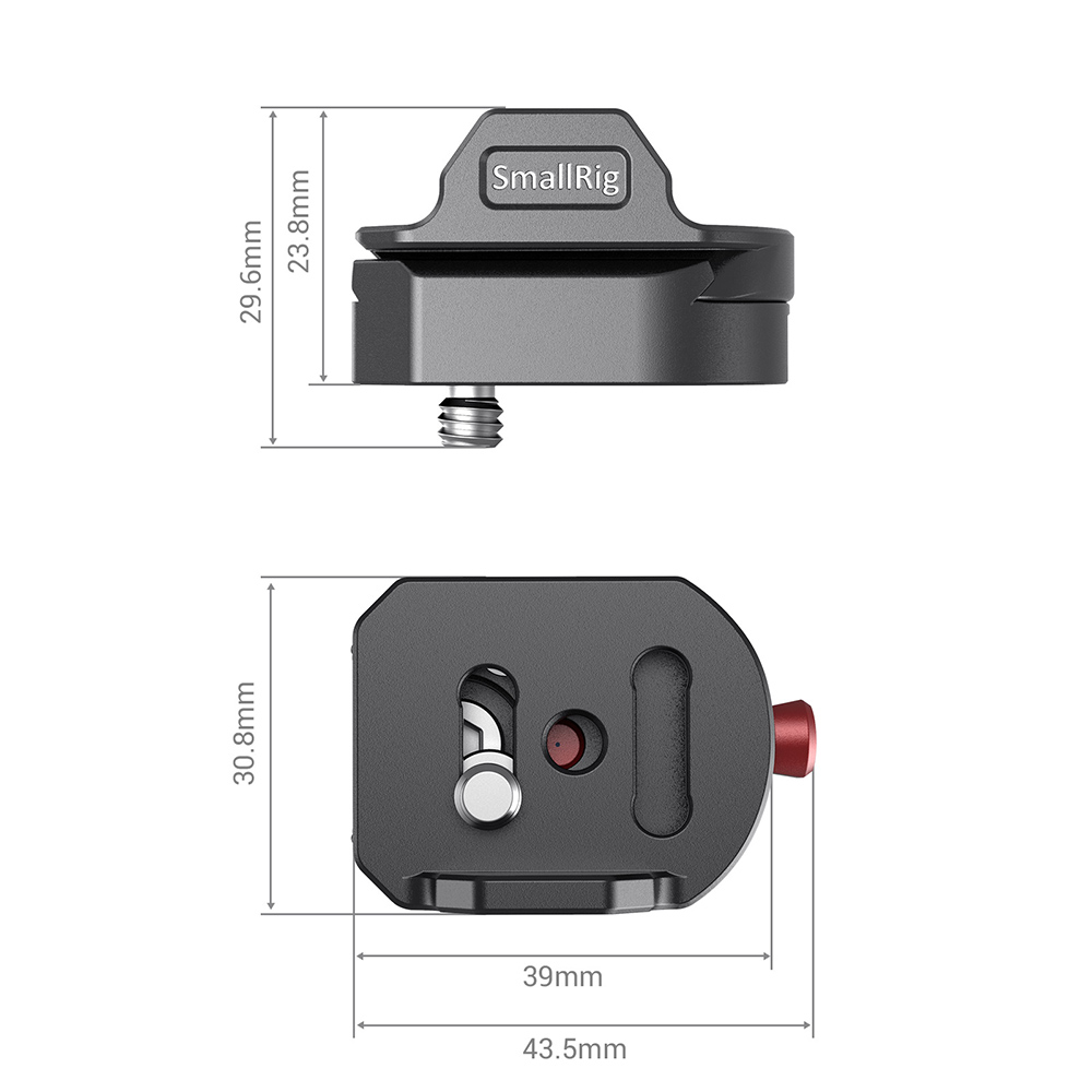 SmallRig universal DSLR camera clamp quick release mounting kit untuk - Kamera dan foto - Foto 4