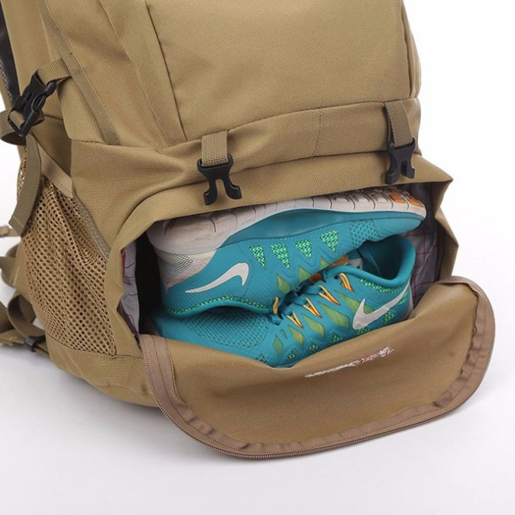 Mountaineering Bag Outdoor Travel Waterproof Sports Backpack Camouflage Large Capacity Backpack