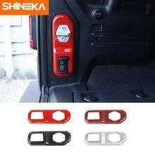 Shinek интерьерный стиль для jeep wrangler jl Автомобильный