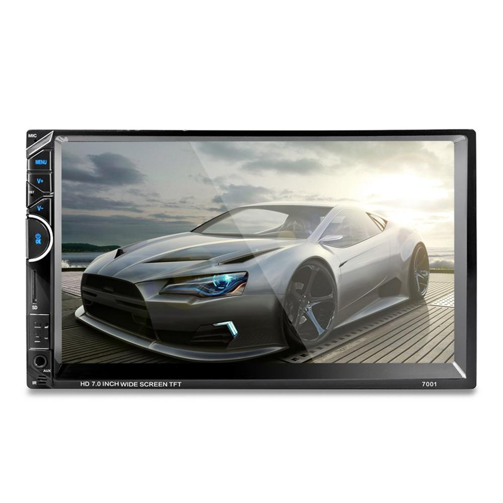 "7"" Car Radio Video MP5 Player Autoradio FM AUX USB SD 7001 HD 1080P Touch Screen With AM + RDS Music Movie Player"