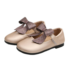 Shoes for Kids Leisure Baby Girls with BowKnot Princess Shoe