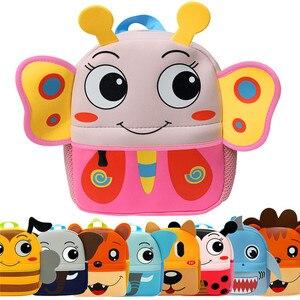 3D Animal Children Backpacks B
