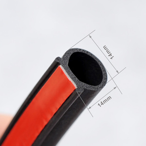Image 2 - P/B/D Type Weatherstrip Noise Insulation Anti scratch Rubber Seals For Car Door Trunk Engine