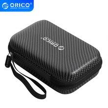 Orico Hdd Case Bescherm Bag Box Voor Samsung Wd Harde Schijf Power Bank Usb kabel Oplader Externe Harde Schijf Oortelefoon opbergdoos