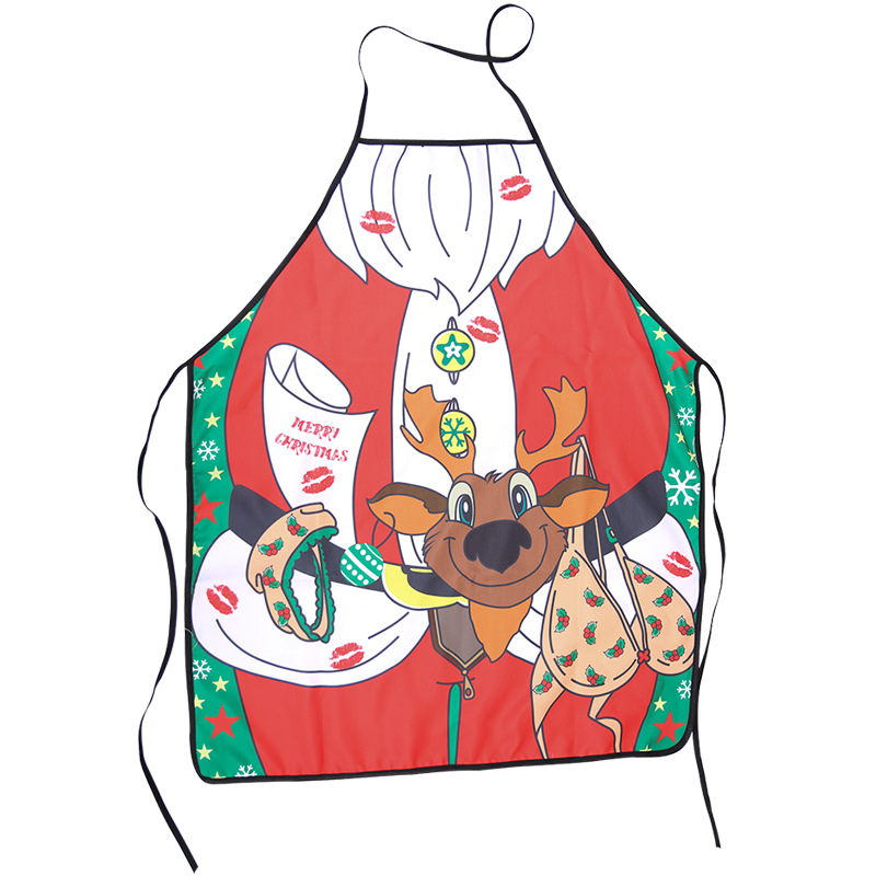 Decorative <font><b>Apron</b></font> Christmas Christmas Christmas Bell Skirt Christmas <font><b>Apron</b></font> Special <font><b>Apron</b></font> <font><b>Kitchen</b></font> <font><b>Sexy</b></font> Cooking Ornament image