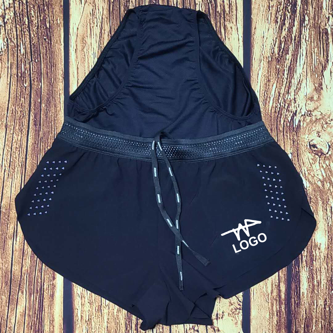 Short style Man Marathon Sports Shorts Fast Running Speedsuit Track and Field Pants Custom Logo