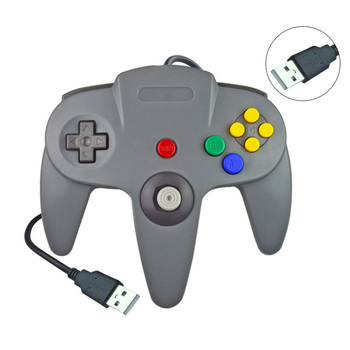 For Nintend N64 Gamepad Joypad Wired Gaming Joystick For Nintend N64 GamePad For Gamecube For PC Computer Controller