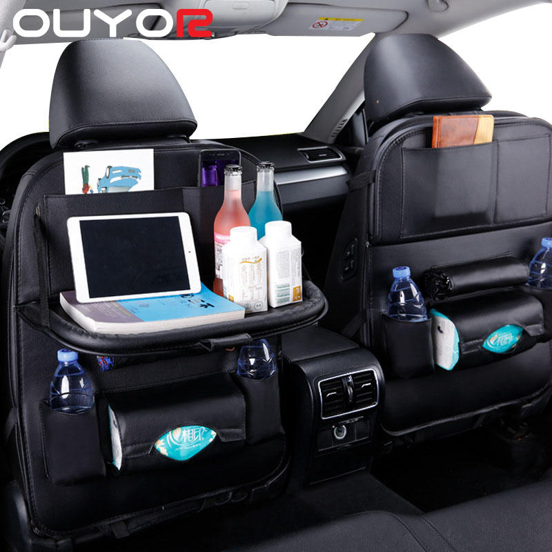 Pad-Bag Table-Tray Car-Storage-Organizer Car-Seat Auto-Accessories Foldable