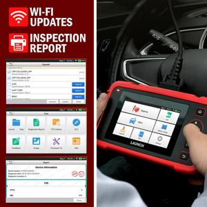 Image 4 - Launch X431 CRP123X Diagnostic Tool Auto Code Reader EOBD OBD2 Scanner Engine Transmission ABS SRS AutoVIN WIFI PK CRP123 VII+