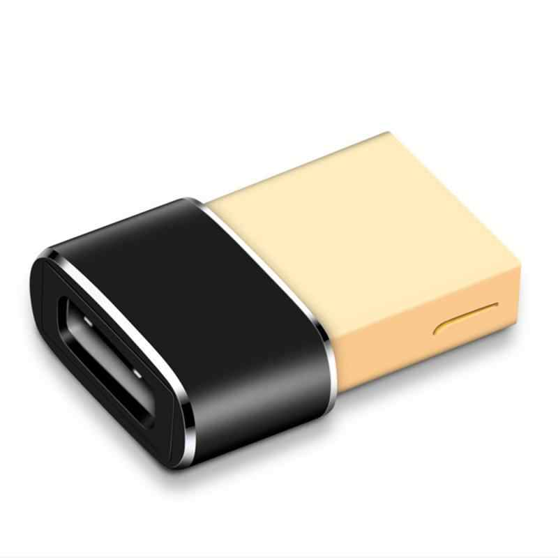 Adaptador USB 2,0 macho a tipo C, adaptador hembra, adaptador de ordenador, adaptador de teléfono para Samsung, Xiaomi y Huawei