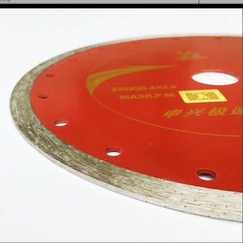 Free shipping of general purpose 1pc 180/230*25.4*10mm continious rim diamond saw blades for marble/granite/concrete etc cutting