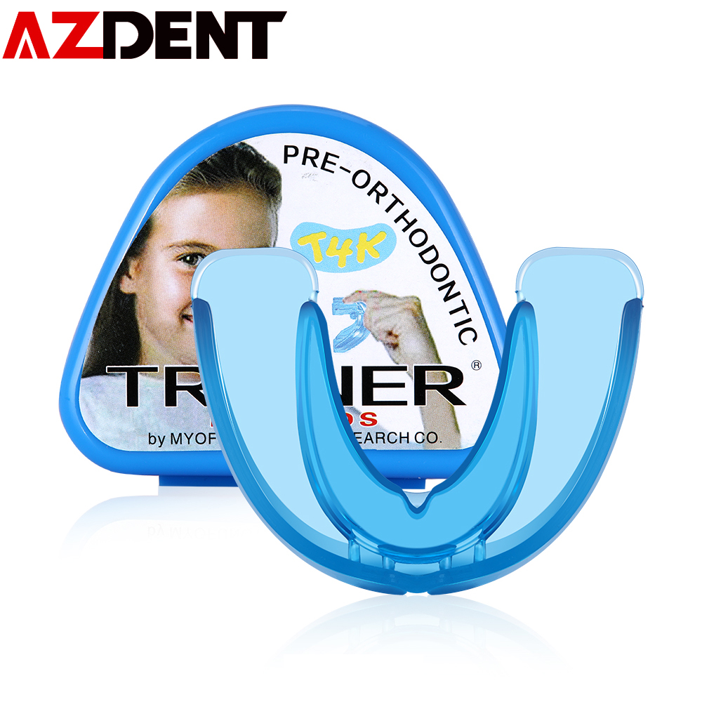 1set  Orthodontic Retainer For Children Dental Braces Children Silicone Smile Teeth Alignment Trainer