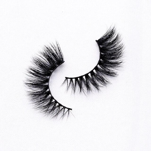 15mm 3D Mink Lashes Wholesale Bulk Natural Think Luxury Fluffy Eyelashes 4