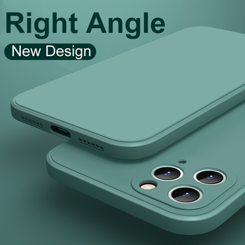 Original Liquid Silicone Luxury Case For Apple iPhone 11 12 Pro Max Mini 7 8 6 6S Plus XR X XS MAX SE 2020 Shockproof Case Cover 1