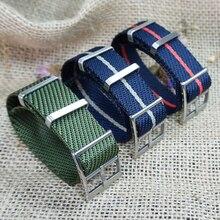 20mm 22mm Nylon otan sangles pour Tudor montre Bracelet remplacement un seul passage otan Style spécial tissu Bracelet bracelets de montre