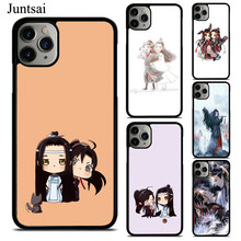 Juntsai The Untamed Lan Zhan Wei Ying Phone Case For iPhone XS 11Pro Max XR X 6 6S 7 8 Plus Case TPU Back Cover(China)