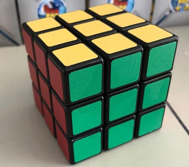 Black PVC Magic Cube Puzzle ShengShou SengSo Legend ChuanQi 56mm 3x3x3 3x3 Professional Speed Cube Educational Toys Game Gift