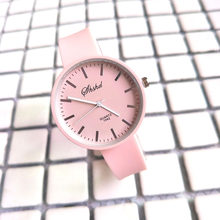 Women Candy Color Quartz Wrist Watch Lady Silicone Band Simple Style Watch New Sale(China)