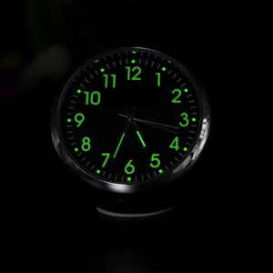 Car Clock Luminous Mini Automo