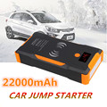 Автомобильный стартер Booster 12V 22000mAh 1500A Power Bank быстрая Беспроводная зарядка аварийный стартер для автомобиля зарядное устройство