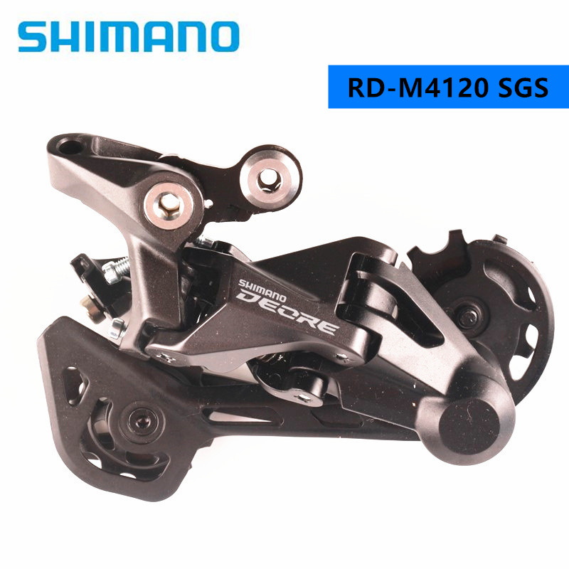 Shimano Deore M6000 GS/SGS Shadow 10 Speed M4120 SGS 10/11 Speed MTB bike bicycle Rear Derailleur SGS Long Cage
