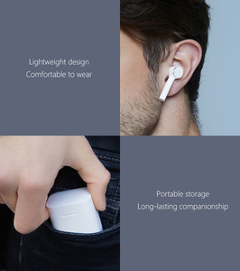 Image 5 - Originele Xiaomi Air Tws Headset Bluetooth Draadloze Stereo Oortelefoon Anc Schakelaar Enc Auto Pauze Tap Controle Airdots Pro Hot Seel