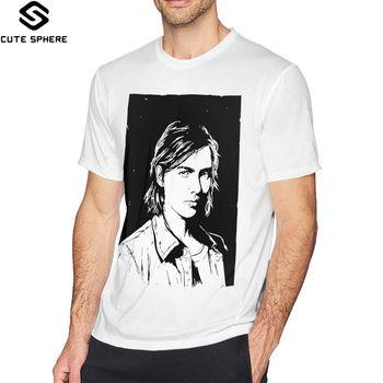 The Last Of Us Ellie T Shirt The Last Of Us Part II Ellie T-Shirt 100 Cotton Short Sleeve Tee Shirt Tshirt недорого