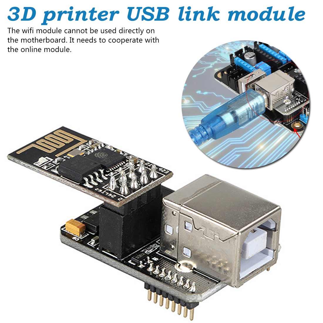 Extensible Parts Lerdge K 3D Printer Motherboard USB Link Module Computer Online Module WIFI Control Function