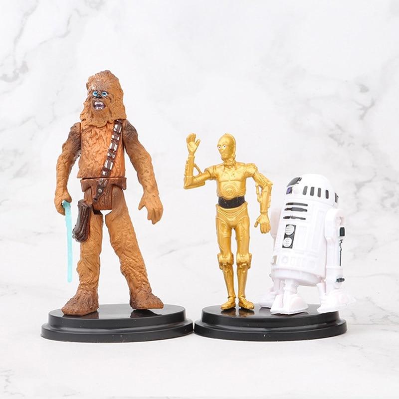 "Lot 2pcs Star Wars LUKE SKYWALKER /& DARTH VADER 3.75/"" Hasbro action figure toy"