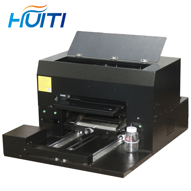 Huiti,Acrylic Tile Metal Door Card Card Pattern Processing UV Printing A3 Small Uv Flatbed Printer 8 Color Machine