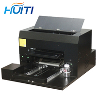 Huiti,PVC business card printer 6 color 8 color inkjet A3 is ready to dry UV universal flatbed printer factory direct sales