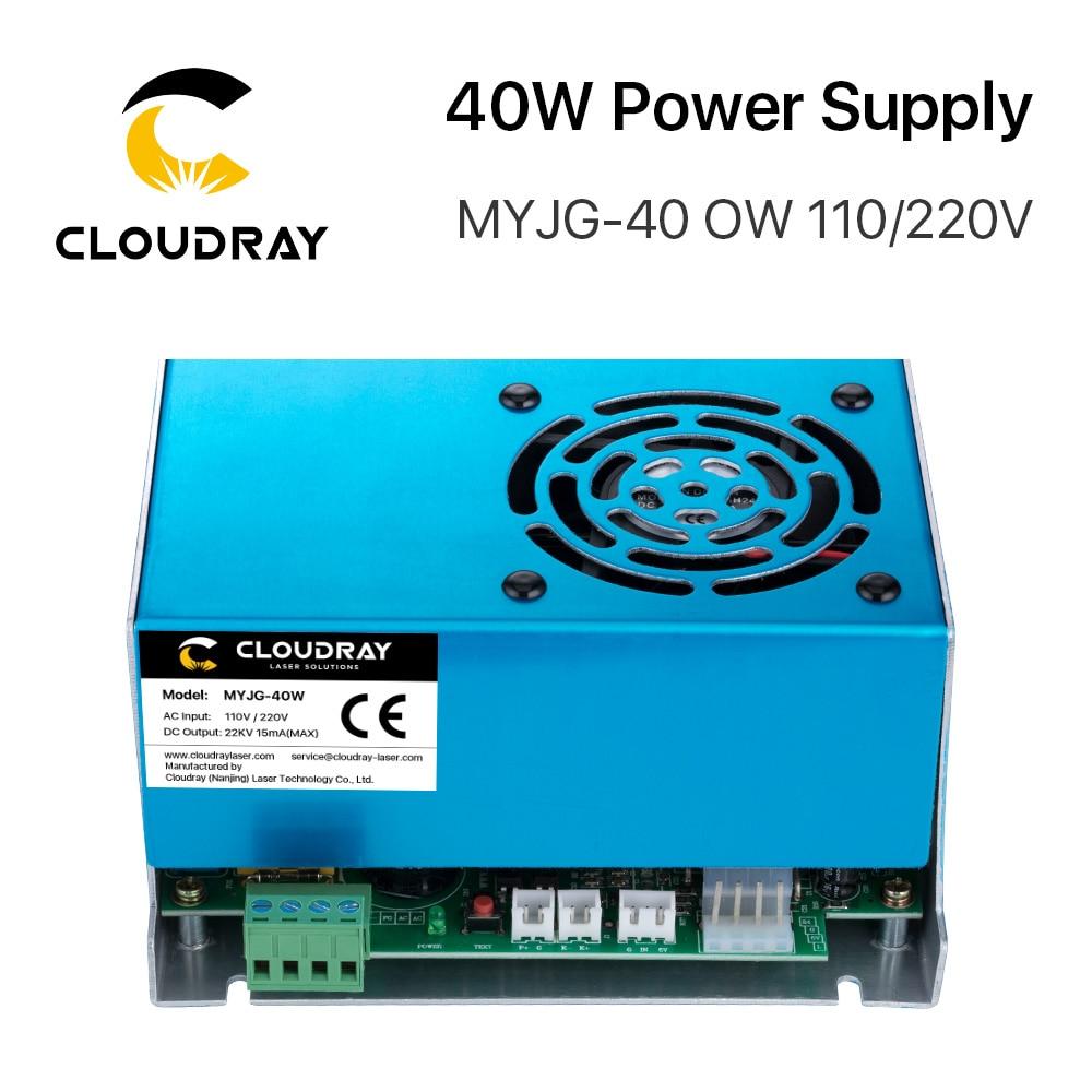 Alimentatore laser CO2 Cloudray 40W 110 V / 220 V per macchina da - Parti di macchine per la lavorazione del legno - Fotografia 5