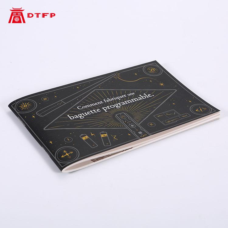 Custom Flyer Book Print Personalized Booklet Printing Folding Flyer Paper Double-sided Single-sided Saddle Stitch Instructions